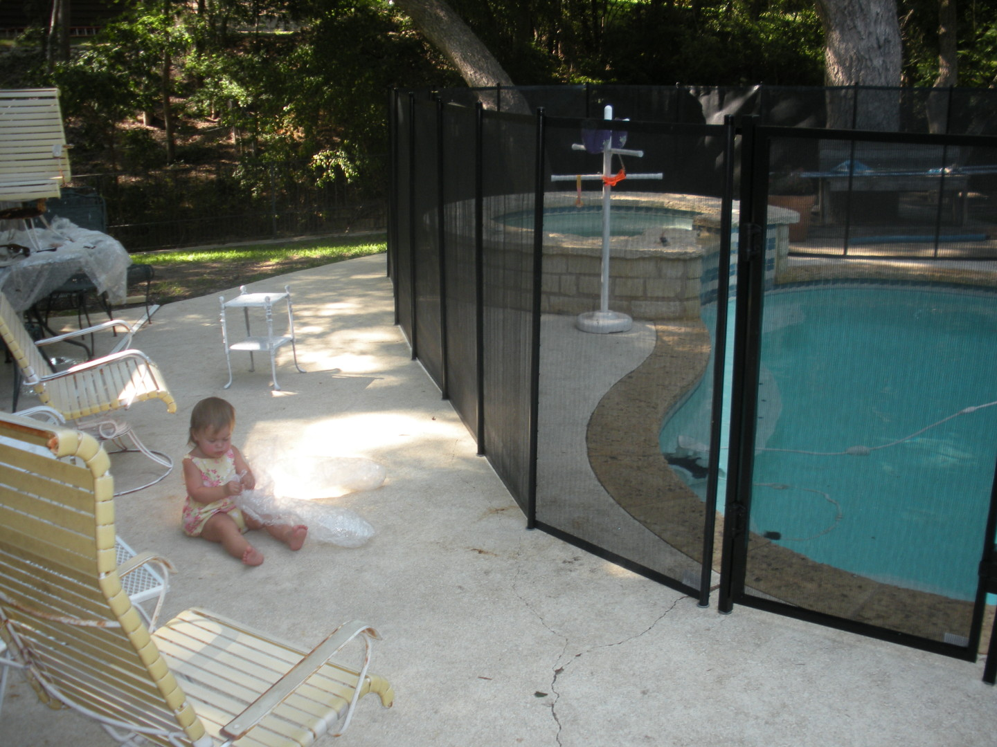 Removable Pool fence by Baby-Loc
